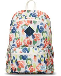 TOMS - Watercolor Tangerine Local Backpack - Lyst