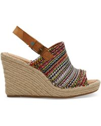 TOMS Monica Sandal - Brown