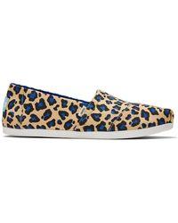 TOMS Chaussures Alpagarta en toile beige léopard s - Neutre