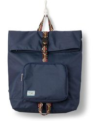 TOMS - Navy Solid Standup Backpack - Lyst