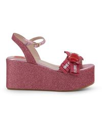 Love Moschino Wedges - Pink