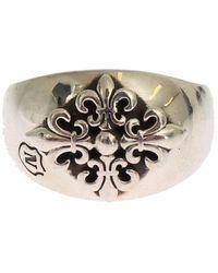 Nialaya Silver Crest 925 Sterling - Metallic