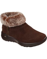 Skechers On-the-go Joy Savvy Ankle Boot - Brown