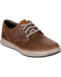 Skechers Unisex Moreno Gustom Slip On Shoe Chestnut 30377 - Brown
