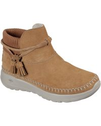 Skechers On-the-go Joy Allure Ankle Boot 31066 - Brown