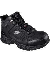 Skechers Unisex Ledom Safety Boot Black 32313