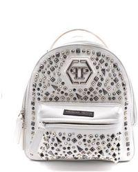 Philipp Plein Backpack White 254643