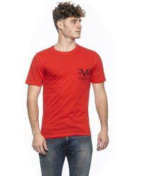 19v69 Italia T-shirt Red 185299