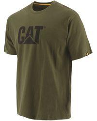 Caterpillar Trademark Logo T-shirt - Green