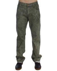 Exte Cotton Regular Fit Jeans Green Sig30514