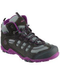 Hi-Tec Unisex Penrith Hiking Boot - Purple
