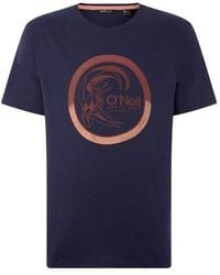 O'neill Sportswear 's Lm Circle Surfer T-shirt - Blue