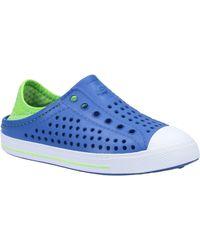 Skechers Unisex Guzman Steps Aqua Sneaker Blue 30778