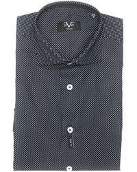 19v69 Italia Shirt Blue 191395023