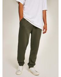 TOPMAN - Khaki Essential Jogger - Lyst