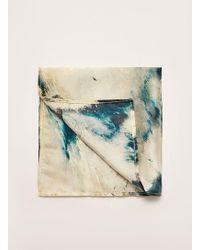 TOPMAN - Ilk Sea Print Pocket Square - Lyst