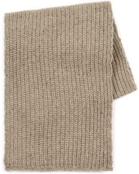 Topman | Oat Chunky Ribbed Scarf | Lyst
