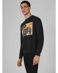 TOPMAN - London Knitwear Company Black 'ewok Scene' Sweatshirt - Lyst