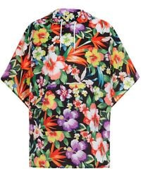 Jaded - Floral Festival Poncho - Lyst