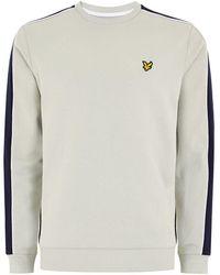 TOPMAN - Lyle & Scott X Block Sweatshirt - Lyst