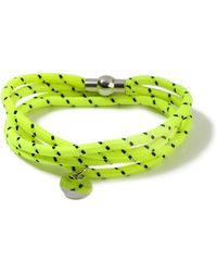 TOPMAN - Yellow Abseil Bracelet - Lyst