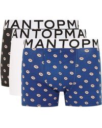 TOPMAN - Doughnut Trunks 3 Pack - Lyst