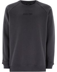 Jog On - Premium Grey Sweatshirt - Lyst