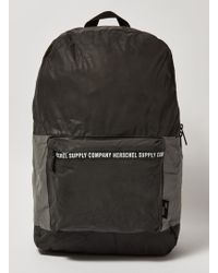 TOPMAN - Herschel Black And Silver Reflective Backpack - Lyst