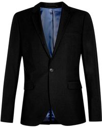TOPMAN - Black Skinny Fit Suit Jacket - Lyst