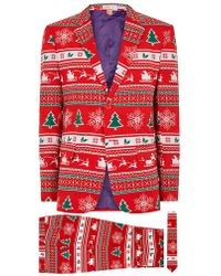 TOPMAN - Opposuits Winter Wonderland Suit - Lyst