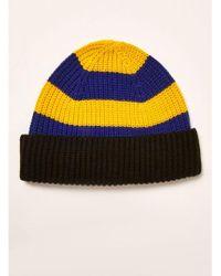 8f079f30725 Topman Yellow A-okay Motif Cap in Yellow for Men - Lyst