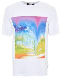 Jaded - Miami Warp Print T-shirt* - Lyst