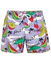 TOPMAN - Lilac Watermelon Swim Short - Lyst