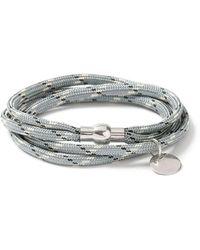TOPMAN - Gray Abseil Bracelet - Lyst