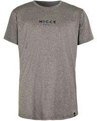 Nicce London - Grey T-shirt - Lyst
