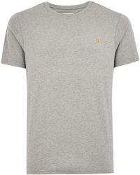 TOPMAN - Farah 'denny' Slim T-shirt - Lyst