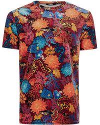 Jaded - Animal Tapestry T-shirt - Lyst