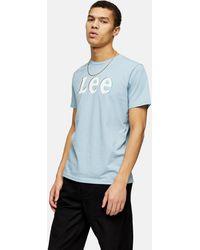 Lee Jeans Chest Logo T-shirt - Blue