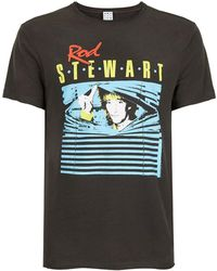 Amplified | Washed Grey Rod Stewart T-shirt* | Lyst