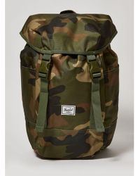 Herschel Supply Co. Camouflage 'iona' Backpack - Green