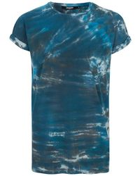 Jaded - Blue Tie-dye Pocket T-shirt* - Lyst