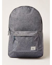 TOPMAN - Chambray Classic Backpack - Lyst