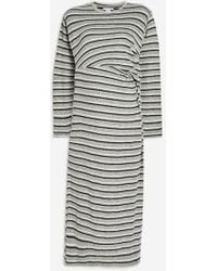 TOPSHOP - maternity Cut And Sew Midi Dress - Lyst