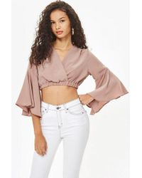 Love - lily Crossover Top By - Lyst
