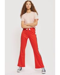 TOPSHOP - Knot Front T-shirt - Lyst