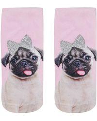 Living Royal | Pug Ankle Socks By | Lyst
