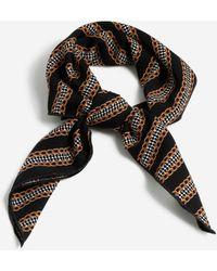 TOPSHOP Chain Print Hair Scarf - Multicolor