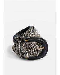 TOPSHOP - Animal Print Belt - Lyst