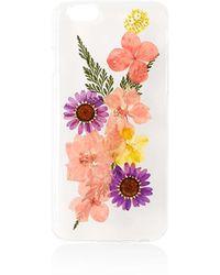 TOPSHOP - Pressed Flower Iphone 6 Case - Lyst