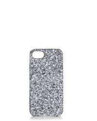 TOPSHOP - Glitter Iphone Case 5/5s - Lyst